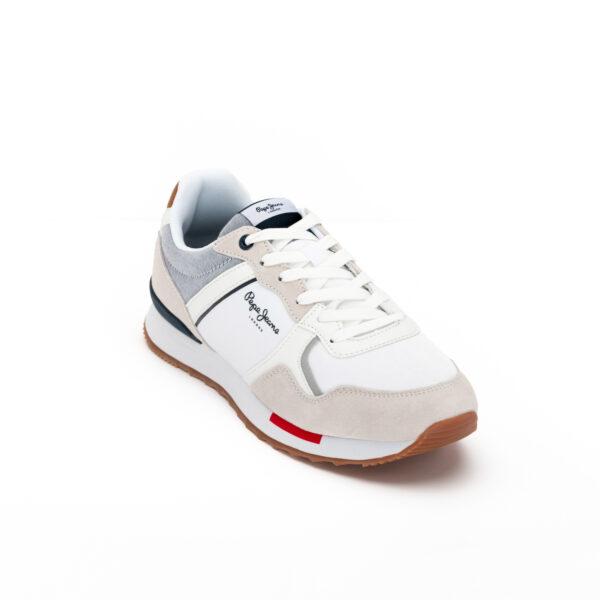 Pepejeans white CROSS 4 TECH 01